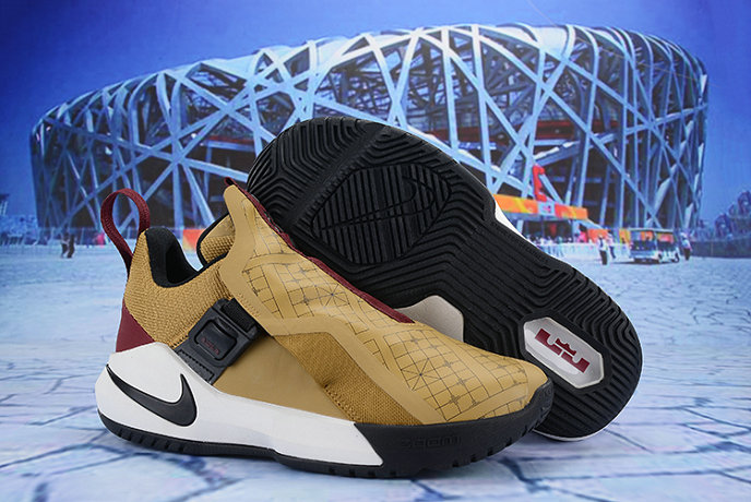Cheap Nike LeBron Ambassador 11 Wheat Black White Wine Red