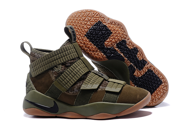 Cheap Nike LeBron Soldier 11 Medium Olive For Sale