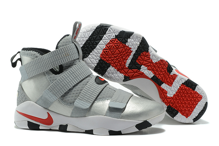 Cheap Nike LeBron Soldier 11 Silver Bullet 2017 For Sale