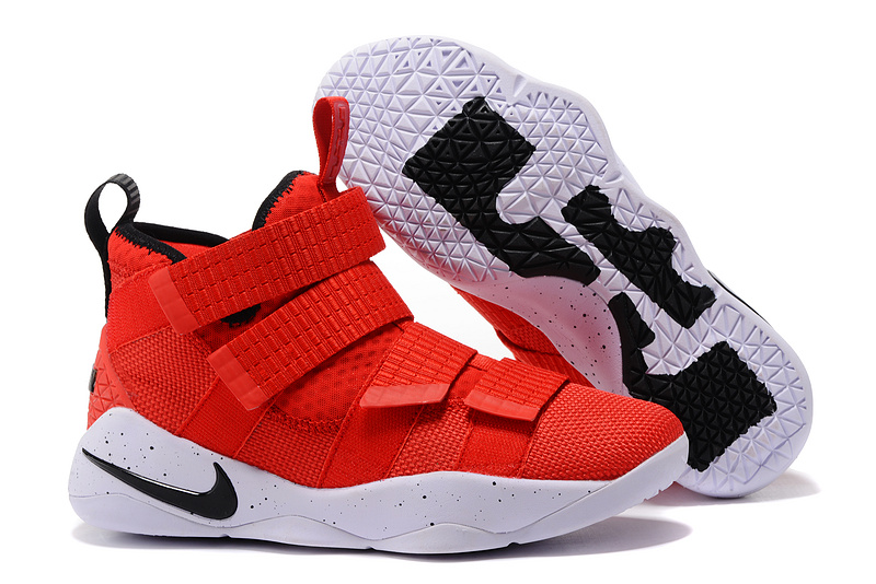 Cheap Nike LeBron Soldier 11 University Red For Sale