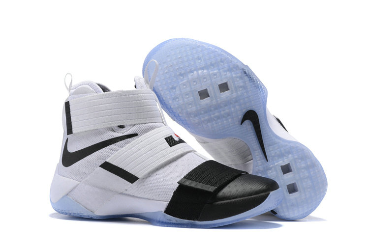 Cheap Nike Lebron Soldier 10 X Black White