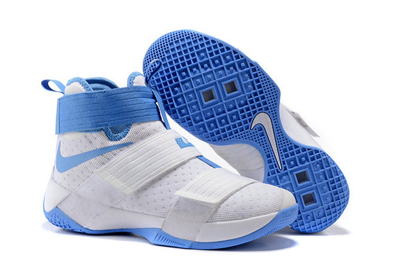 Cheap Nike Lebron Soldier 10 X Blue White