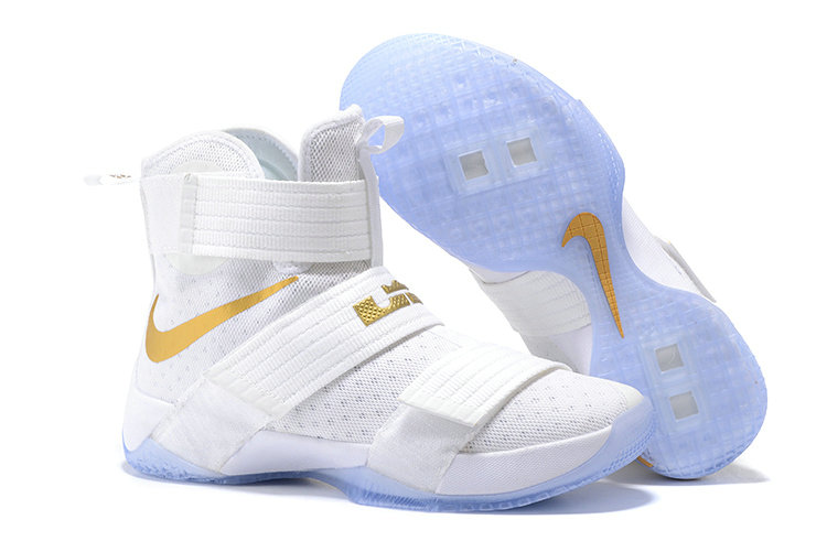 Cheap Nike Lebron Soldier 10 X Gold White