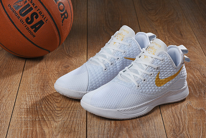 Cheap Nike Lebron Witness 3 Gold White