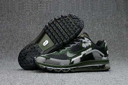 Cheap Nike Mens Air Max 2017 Camouflage Army Green Grey Black