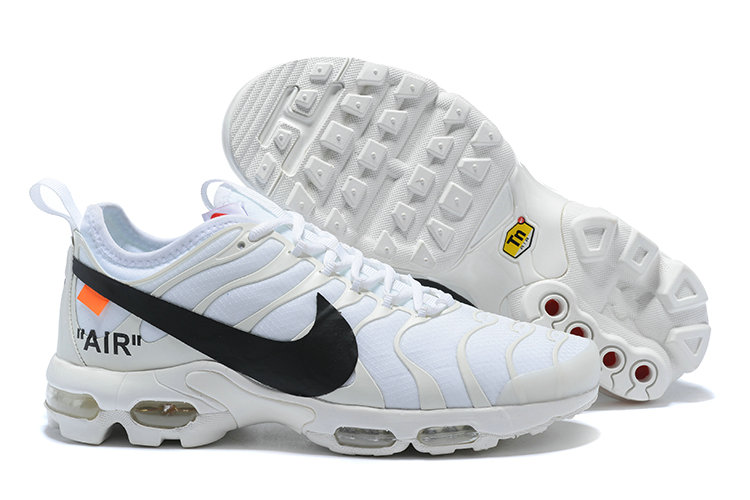 New 2018 Nike Nike OFF-WHITE Cheap x The 10 Air Max Plus TN Ultra White