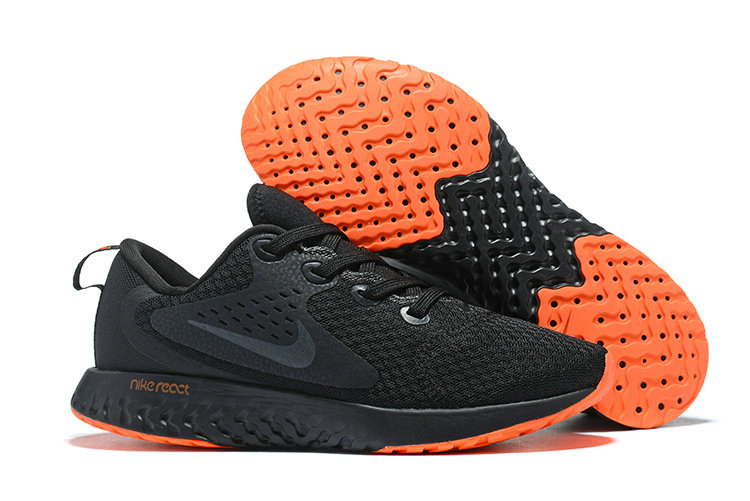Cheap Nike Odyssey React Black Orange