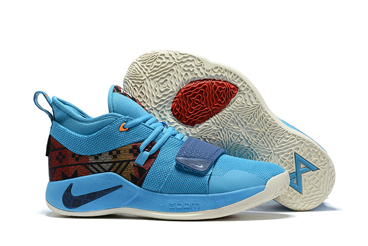 Cheap Nike PG 2.5 Pendleton Multi-Color College Navy CI0294-900