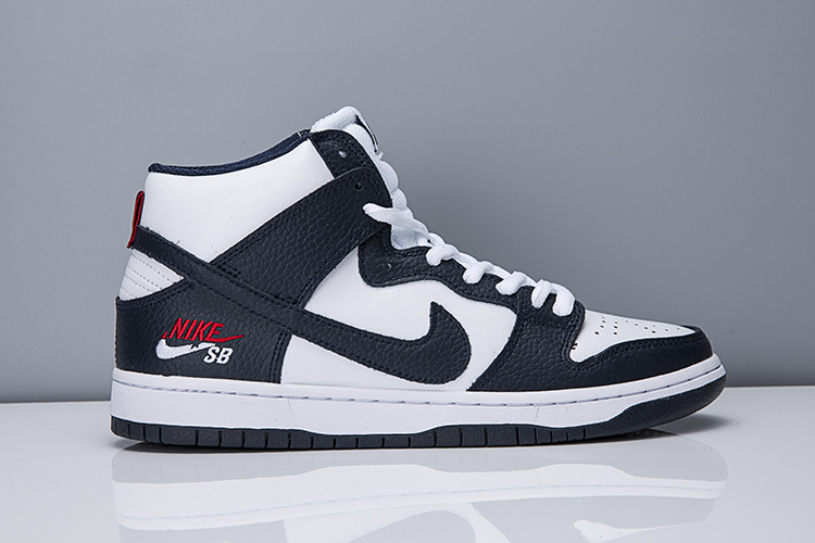 Cheap Nike SB ZOOM DUNK HI PRO OBSIDIAN WHITE 854851-441 For Mens