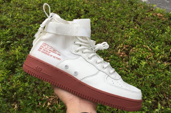 Cheap Nike SF-AF1 Mid Ivory Mars Stone For Sale