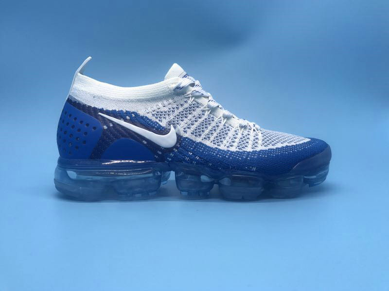 super popular 09068 b60be New 2018 Nike VaporMax Cheap x Nike Air VaporMax 2.0 White Royal Blue