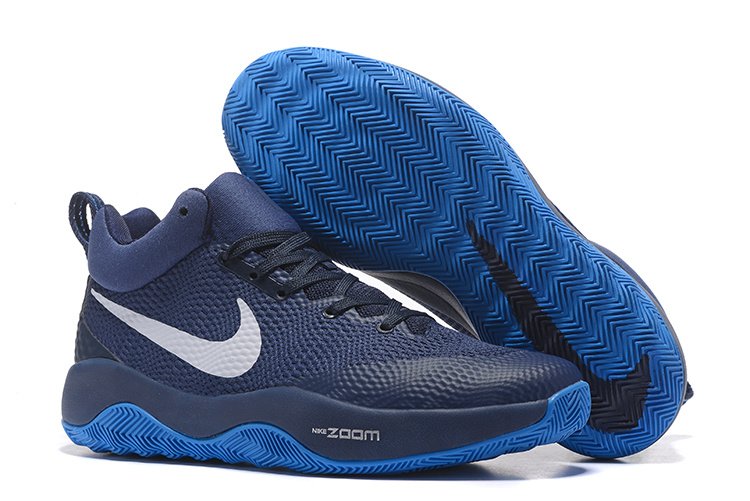 Cheap Nike Zoom Hyperrev 2017 Black Dark Blue White Shoes For Sale