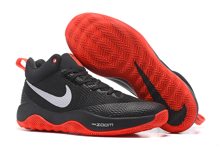 Cheap Nike Zoom Hyperrev 2017 Black Red White Shoes For Sale