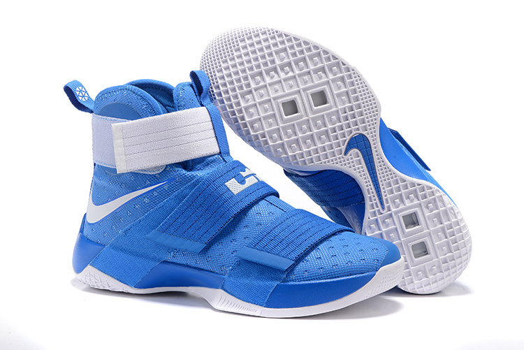 Cheap NikeLebronSoldier 10 Blue White
