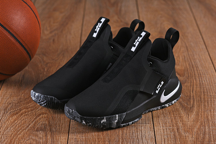Cheap Nikes LeBron Ambassador 11 Black White