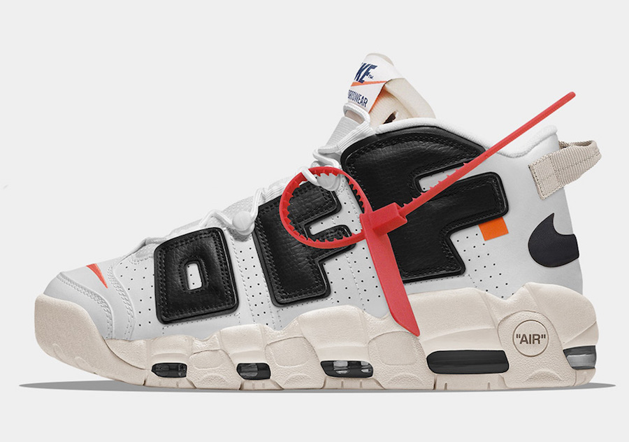 Cheap Off-White x Nike Air More Uptempo For Sale