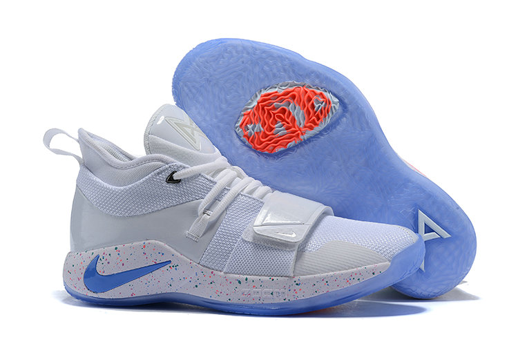 Cheap PlayStation x Nike PG 2.5 White Multi-Color BQ8388-100