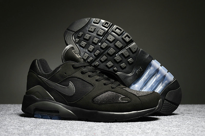 Cheap Womens Nike Air Max 180 Triple Black