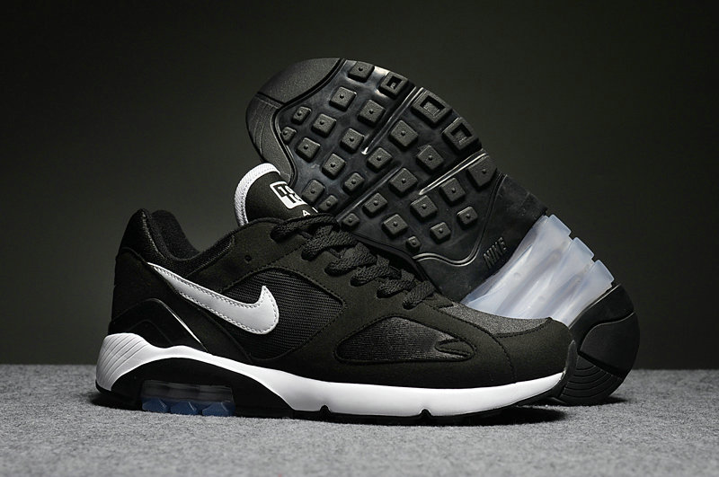 Cheap Womens Nike Air Max 180 White Black