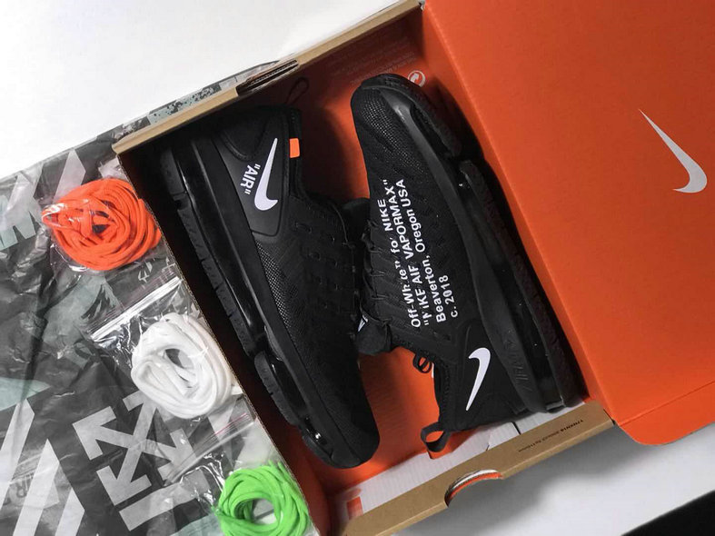 Cheap Womens NikeLab Air Max 2019 OFF WHITE ALL BLACK