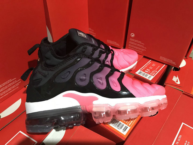 Cheap Womens NikeLab Air VaporMax Plus Black Pink White