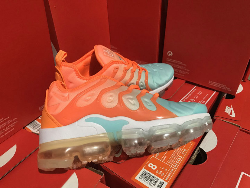Cheap Womens NikeLab Air VaporMax Plus Orange Green White