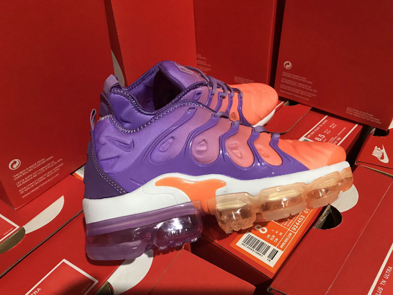 Cheap Womens NikeLab Air VaporMax Plus Purple Orange White