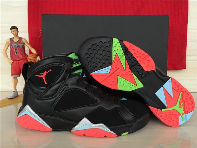 Girls Air Jordan 7 Retro 30th Marvin The Martian For Sale