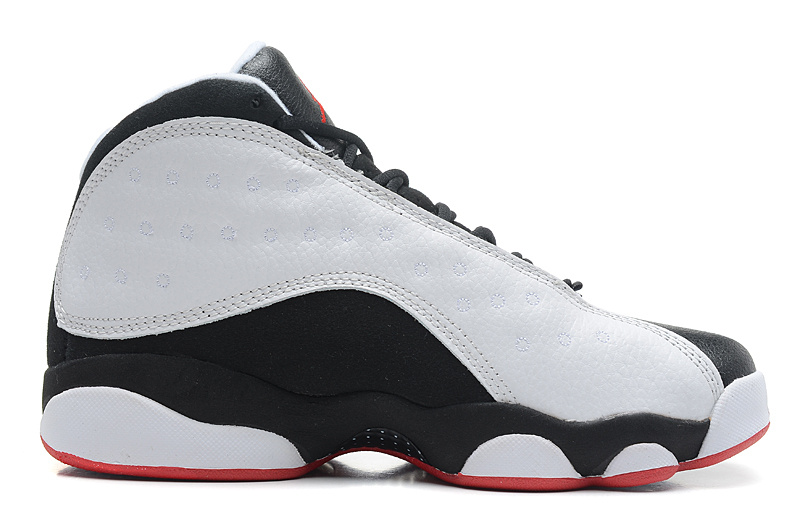 low priced 0f896 d9d53 Girls Air Jordans 13 Retro He Got Game White True Red-Black For Sale