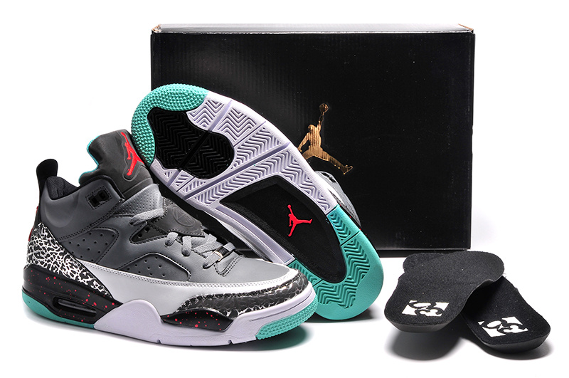 Jordan Son of Mars Low Pro Stars Cool Grey Poison Green-Infrared 23 For Sale