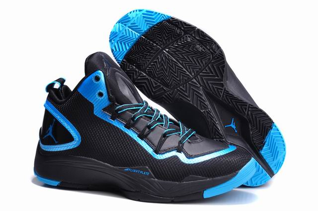 Jordan Super.Fly 2 PO Black-Dark Powder Blue For Sale