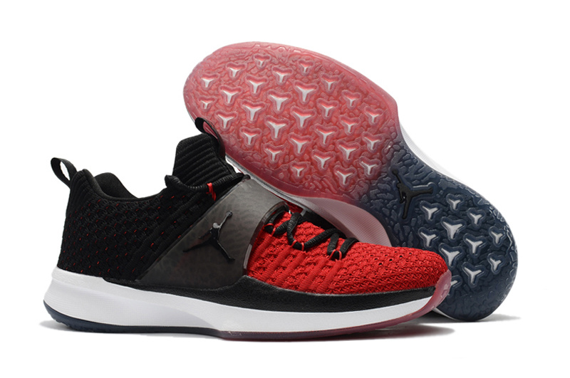 Jordan Trainer 2 Flyknit Black Gym Red-White For Sale