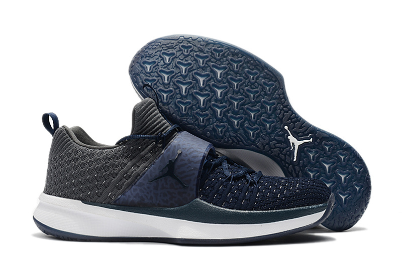 Jordan Trainer 2 Flyknit Dark Blue Grey For Sale