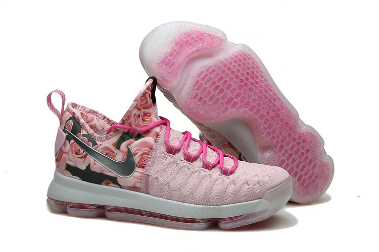 KD 9 Pink Black Aunt Pearl Flora 2016 For Sale