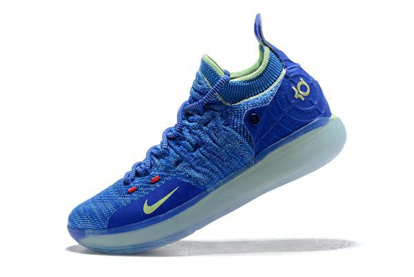 Cheap Kevin Durants Nike KD 11 Paranoid Bright Blue Volt For Sale