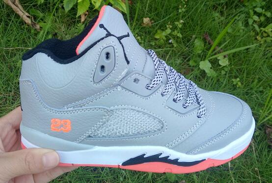 Kids Air Jordan 5 Hot Lava Wolf Grey Hot Lava White Black For Sale