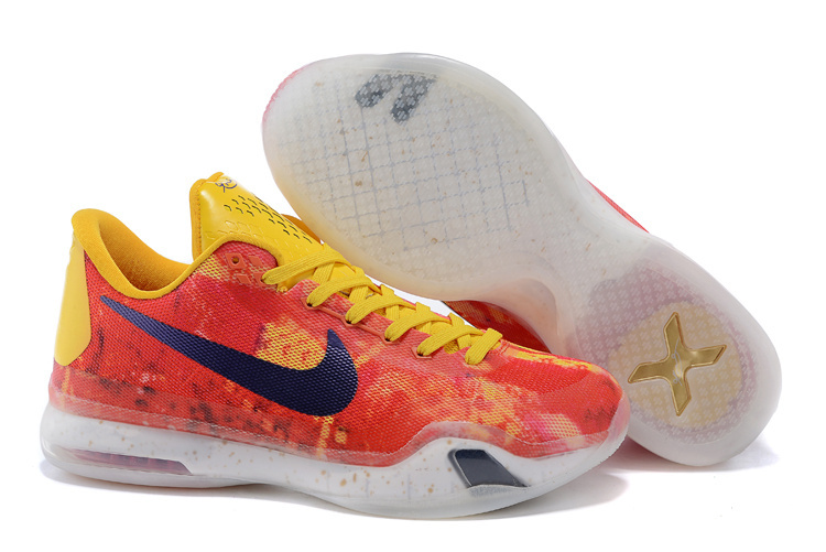 Kobe 10 iD Sgt. Mamba Yellow Multi-Color For Sale