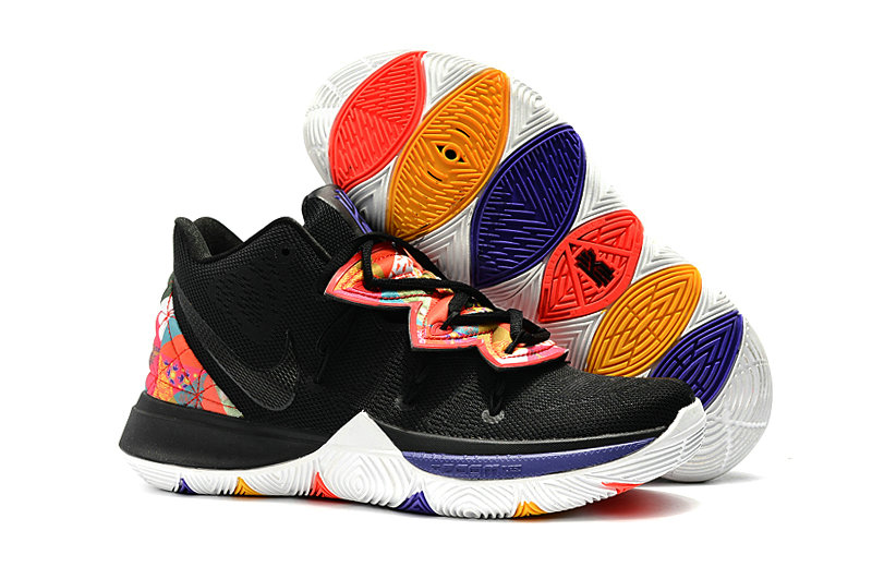 Kyrie Irvings For Womens Nike Kyrie 5 Be True Black