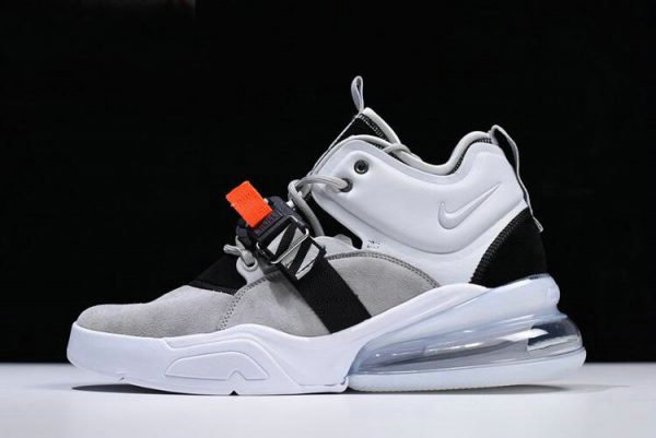 Cheap Mens Nike Air Force 270 Wolf Grey Dark Grey AH6772-002