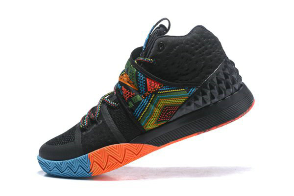 Cheap Mens Nike Kyrie S1 Hybrid BHM Black Multi-Color Free Shipping