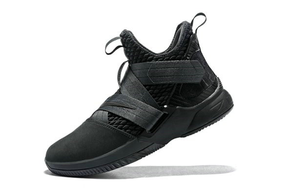 Cheap Mens Nike LeBron Soldier 12 SFG Zero Dark Thirty Anthracite Black AO4054-002