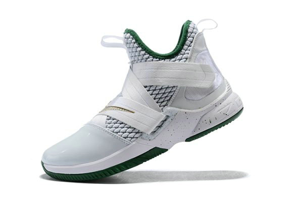 Cheap Mens Nike LeBron Soldier 12 SVSM Home White Multi-Color AO2609-100