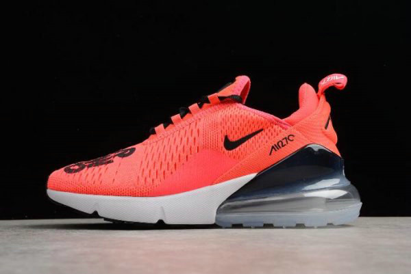Cheap NIKEiD Air Max 270 Hyper Pink Black-White Mens and Womens Size BQ0742-996