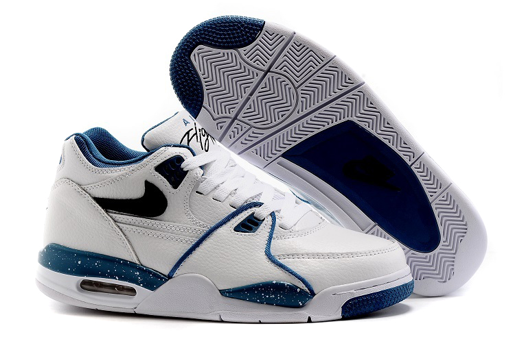 Nike Air Flight 89 Obsidian Blue White Dark Obsidian-Brigade Blue Shoes