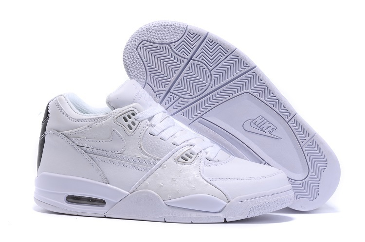 Nike Air Flight 89 White White-White Shoes For Sale
