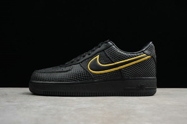 Cheap Nike Air Force 1 Low Premium NIKEiD Black Mamba For Sale