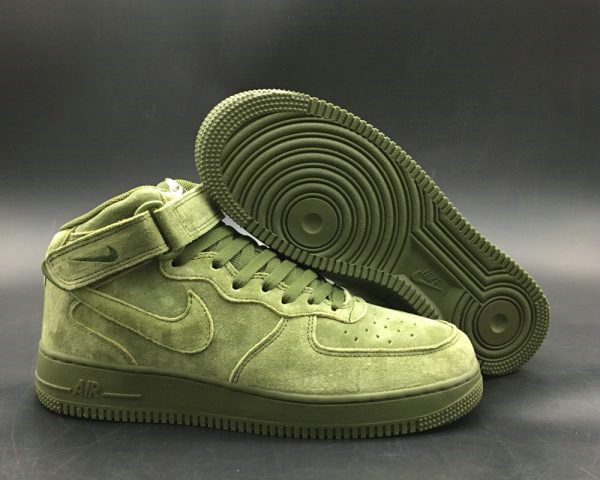Cheap Nike Air Force 1 Mid 07 Legion Green Legion Green-White For Sale