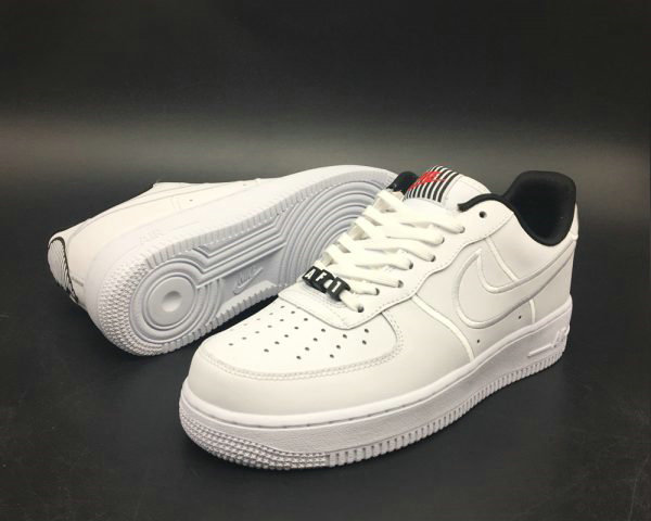 Cheap Nike Air Force 1 Valentines Day White Black For Sale