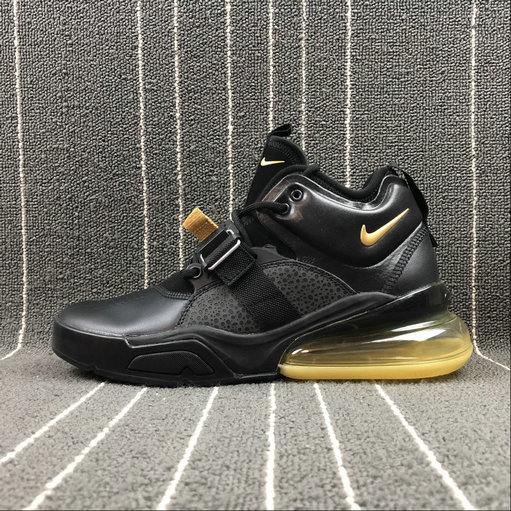 Nike Air Force 270 AH6772-007 Black Yellow