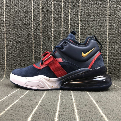 Nike Air Force 270 AH6772-040 Dark Blue Red White